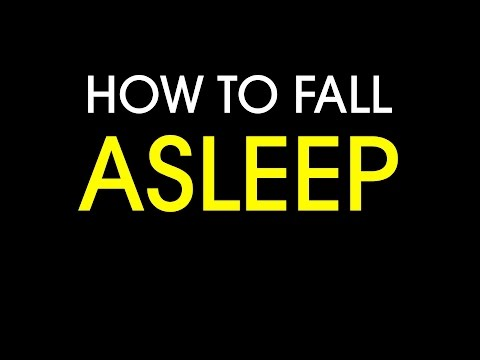 Some reverse psychology on how to fall asleep