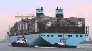 Video 130913Shipspotting Rotterdam Majestic Maersk a.o. MP3, 3GP, MP4, WEBM, AVI, FLV Juni 2018