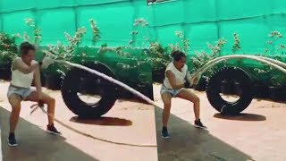 Sonakshi Sinha Hard Workout In Gym For Weight Loss