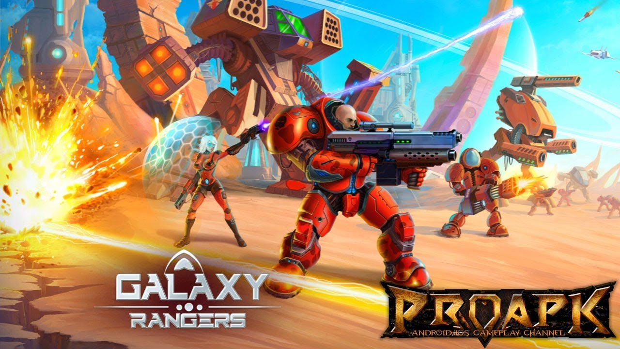 Galaxy Rangers - online strategy game with RPG