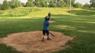 Batting practice three