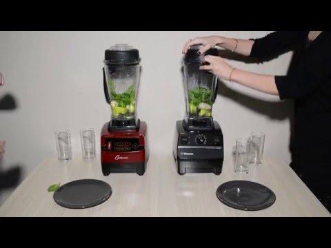 Frullatori Optimum 9200A contro Vitamix TNC 5200 -  il test dello smoothie di verdure