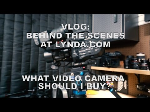 VLOG: Behind The Scenes at Lynda.com.