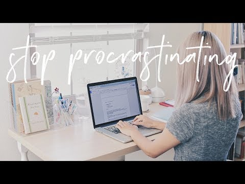How to Stop Procrastinating & Get Work Done   Productivity Tips & Hacks