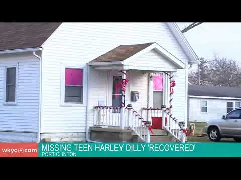Missing Port Clinton teen Harley Dilly 'recovered'
