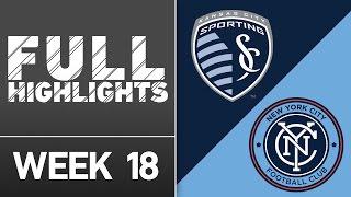 HIGHLIGHTS: Sporting Kansas City vs. New York City FC | July 10, 2016 by Major League Soccer