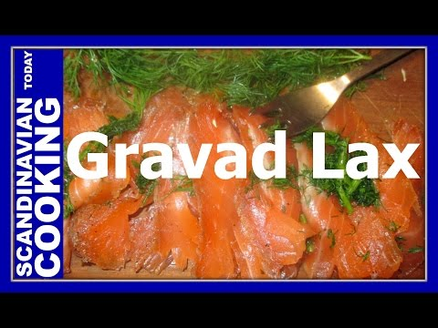 Gravad Laks – Gravad Lax  – A delicious Nordic Dill-cured Salmon Dish Recipe