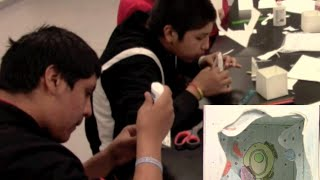 6th Grade Native American Students Cellular Biology Science Class