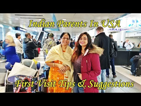 Download NRI Vlog: Mom's First visit  to USA | Tips & Suggestions for Indian parents first visit to USA HD Mp4 3GP Video and MP3