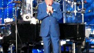 Billy Joel  With  Tony Bennet - New York State Of Mind-  Last Play At Shea  7/18/08