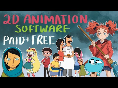 2D Animation Software (PAID AND FREE)