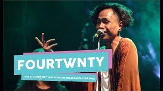 Video [HD] Fourtwnty - Zona Nyaman (live at IF PROJECT, GOR UNY, September 2017) MP3, 3GP, MP4, WEBM, AVI, FLV Juli 2018