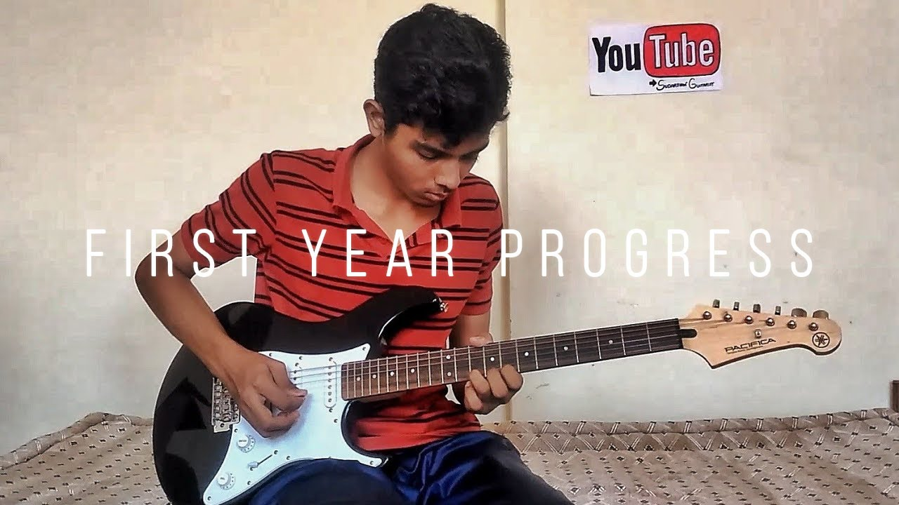 First Year Playing The Electric Guitar – Self Taught – How I Learnt Electric Guitar