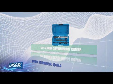6064 | LASER Tournevis à Frapper (utilisation burineur)