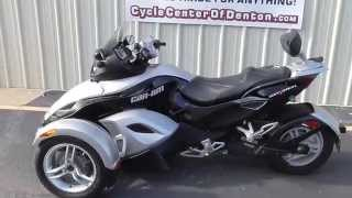 5. 2009 Can-Am Spyder Roadster SM5