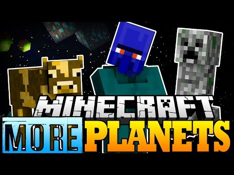 Minecraft Mod   MORE PLANETS MOD! (Adventure Outside the Galacticraft Milky Way!) - Mod Showcase