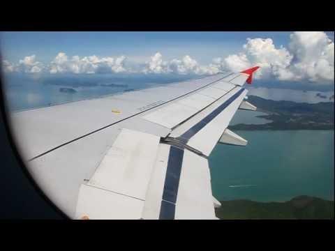 Thai AirAsia Airbus A320 Landing – Phuket (FD 3525)