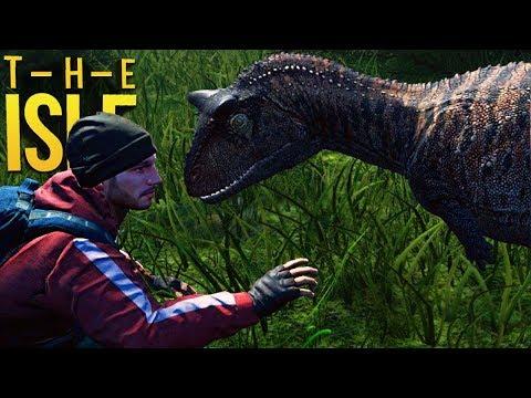 The Isle - Meu Amigo Dinossauro, Perigos No Centro Da ILHA!  (#203) (PT-BR)