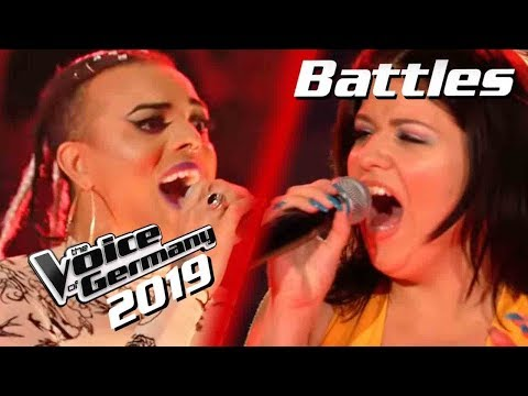 Queen - Don't Stop Me Now (Oxa vs. Sabina Noronha) | The Voice of Germany 2019 | Battles