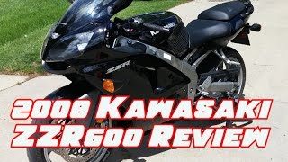 2. 2008 Kawasaki ZZR600 Review and Walkaround