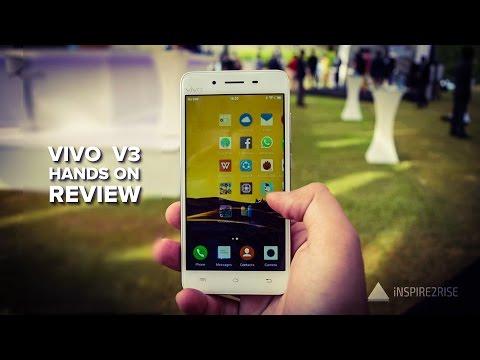 Vivo V3 hands on review [CAMERA, GAMING, BENCHMARKS]