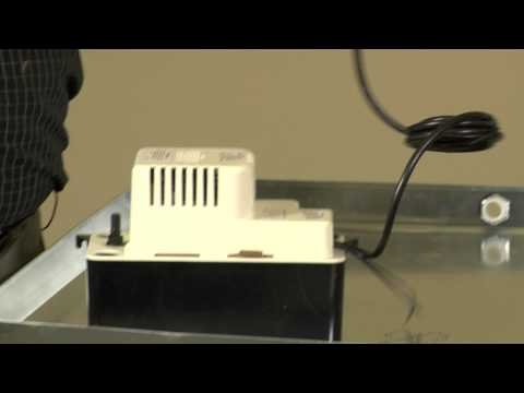air conditioner leaking in your basement condensate pump reliable