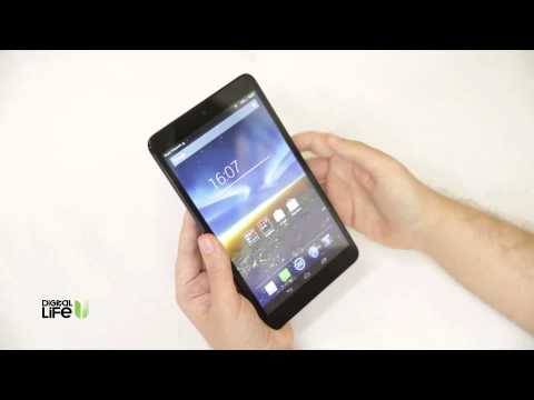Vodafone Smart Tab 4: Hands-on Video Review (Greek)
