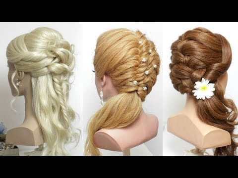 3 New Party Hairstyles For Long Hair. Perfect Prom Ideas