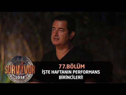 Акан Илıкалı хафтанıн перформанс биринкилерини аçıкладı | 77. Бöлüм | Сарвивор 2018