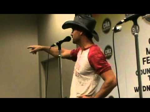 CMA Fest Tim McGraw Interview