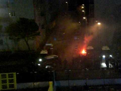 Tensión fuera del estadio de Bérgamo, luego del Atalanta - Juventus
