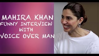 Video Mahira Khan Funny Interview with Voice Over Man - Episode 8 MP3, 3GP, MP4, WEBM, AVI, FLV Mei 2018