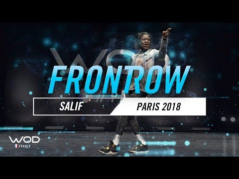SALIF | World of Dance Paris Qualifier 2018 | FrontRow