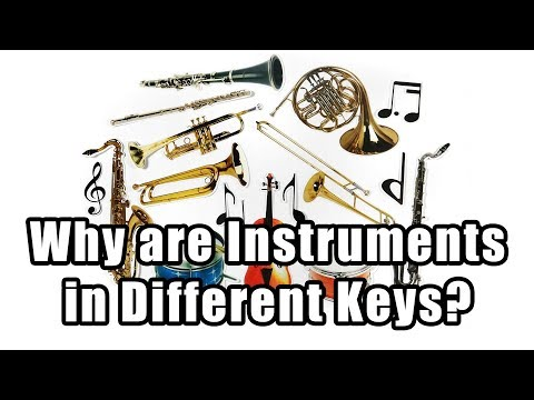 Why are Instruments in Different Keys?
