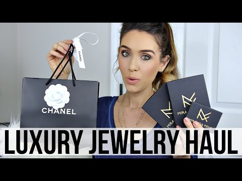 LUXURY JEWELRY HAUL & GIVEAWAY | CHANEL & MIRANDA FRYE | Shea Whitney