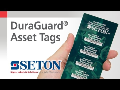 DuraGuard® Asset Tags | Seton Video