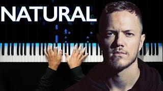 Imagine Dragons - Natural | На пианино | Ноты