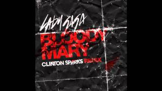 Lady GaGa vídeo clipe Bloody Mary (Clinton Sparks Remix)