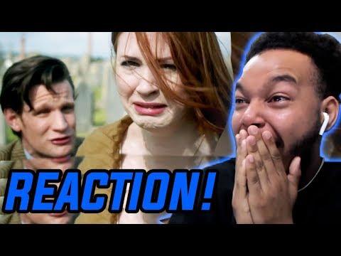 "Doctor Who Season 7 Episode 5 ""The Angels Take Manhattan"" REACTION!"