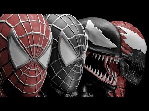 WH Art Sexual Symbiotes Reclamation SpiderMan