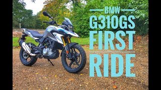 6. 2018 BMW G310GS Review
