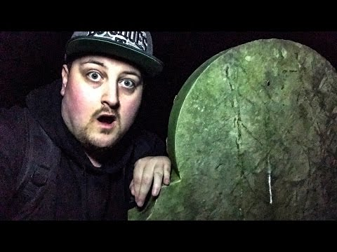 Haunted Cemetery Ghost Hunting at Night