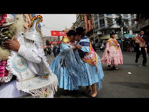 Βολιβία: Πολύχρωμη παρέλαση για τον…Ιησού!
