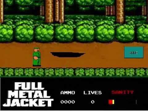 Full Metal Jacket NES Game