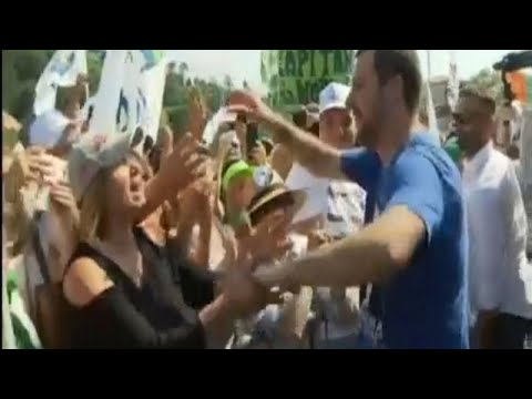 Προκλητικές δηλώσεις Σαλβίνι για τις ευρωεκλογές
