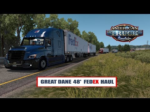 Great Dane 48 Double Trailer v4.0