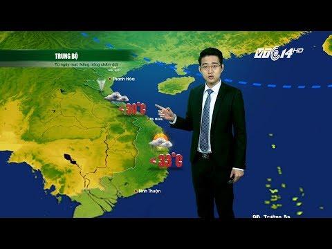 (VTC14)_Thời tiết 12h ngày 24.05.2017