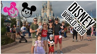 2019 WALT DISNEY WORLD VACATION VLOG 🏰 - K Family Vloggers - Brianna K