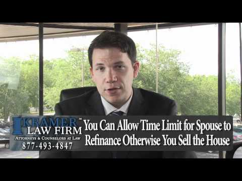 Orlando Family Law Lawyer – Spouse is Keeping the House – Can My Name Be Taken Off Mortgage?