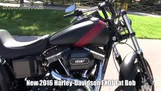 6. 2016 Harley Davidson Fat Bob for sale - 2017 Fat Bob Review coming